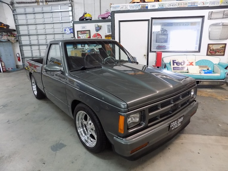 Used 1993 CHEVROLET S 10 PICKUP TRUCK  350 V 8 for sale $14,995 at Cool Cars For Sale in Pompano Beach FL