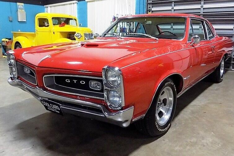 Used 1966 Pontiac GTO for sale $39,995 at Cool Cars For Sale in Pompano Beach FL