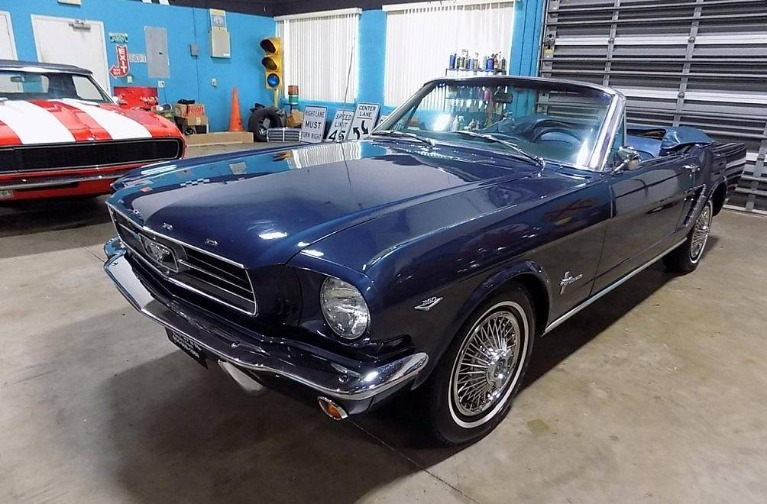 Used 1965 Ford Mustang Convertible for sale $29,500 at Cool Cars For Sale in Pompano Beach FL