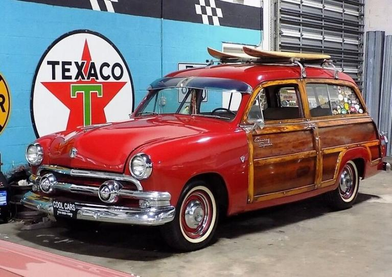 Used 1951 Ford Country Squire Woody Wagon for sale $35,995 at Cool Cars For Sale in Pompano Beach FL