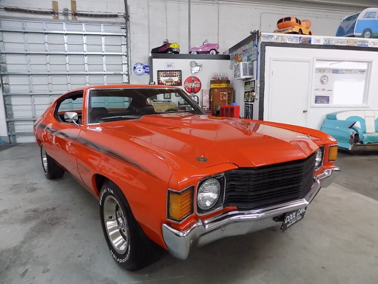 Used 1972 CHEVROLET CHEVELLE HEAVY CHEVY for sale $35,995 at Cool Cars For Sale in Pompano Beach FL