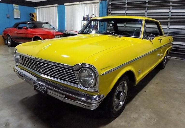Used 1965 Chevrolet Nova for sale $23,500 at Cool Cars For Sale in Pompano Beach FL