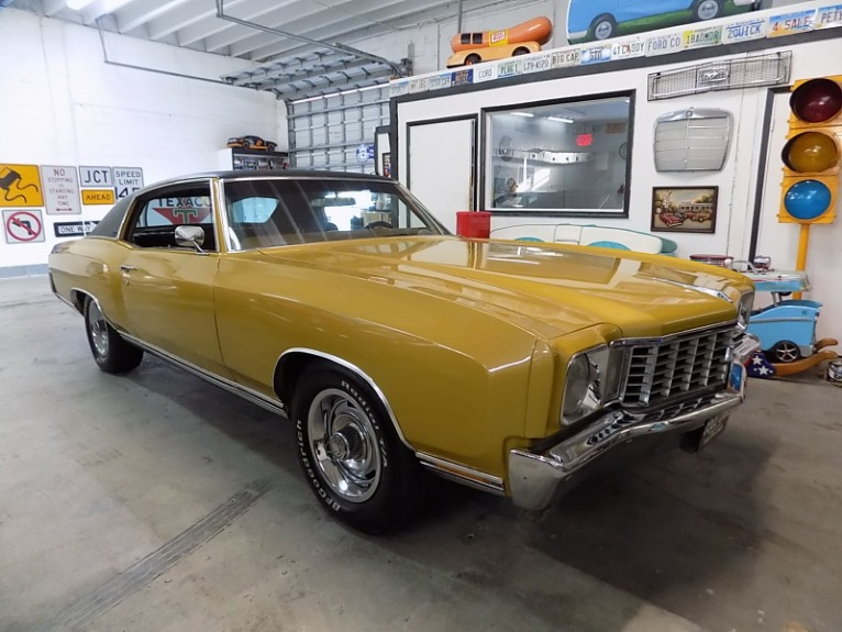 Used 1972 CHEVROLET MONTE  CARLO for sale $23,995 at Cool Cars For Sale in Pompano Beach FL